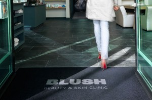 Keep Property Entrances Clean with Logo Barrier Mats