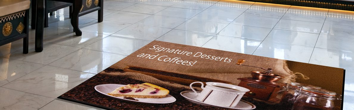Coffee Shops Mats from Logo Barrier Mats Sheffield