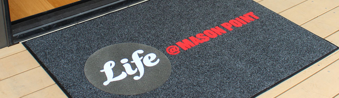 Personlised Barrier Mats for Hotels, Shops and businesses. Sheffield, UK.